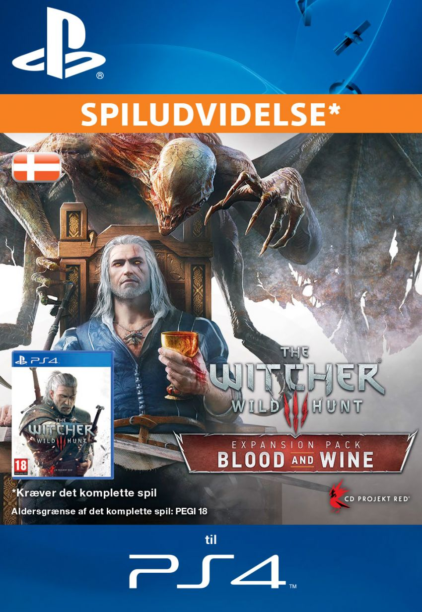 The Witcher 3: Wild Hunt – Blood and Wine (DK)