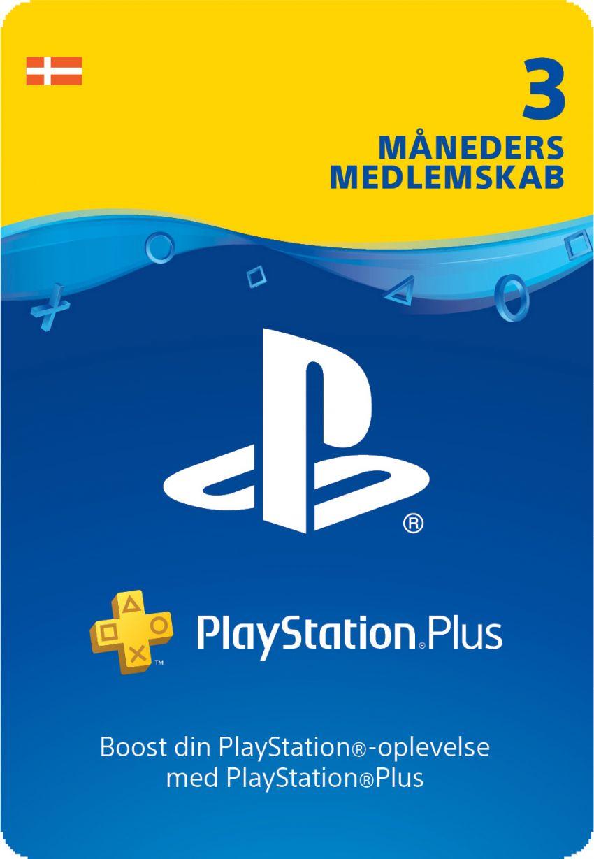 PlayStation® Plus: 3 Måneders Medlemskab