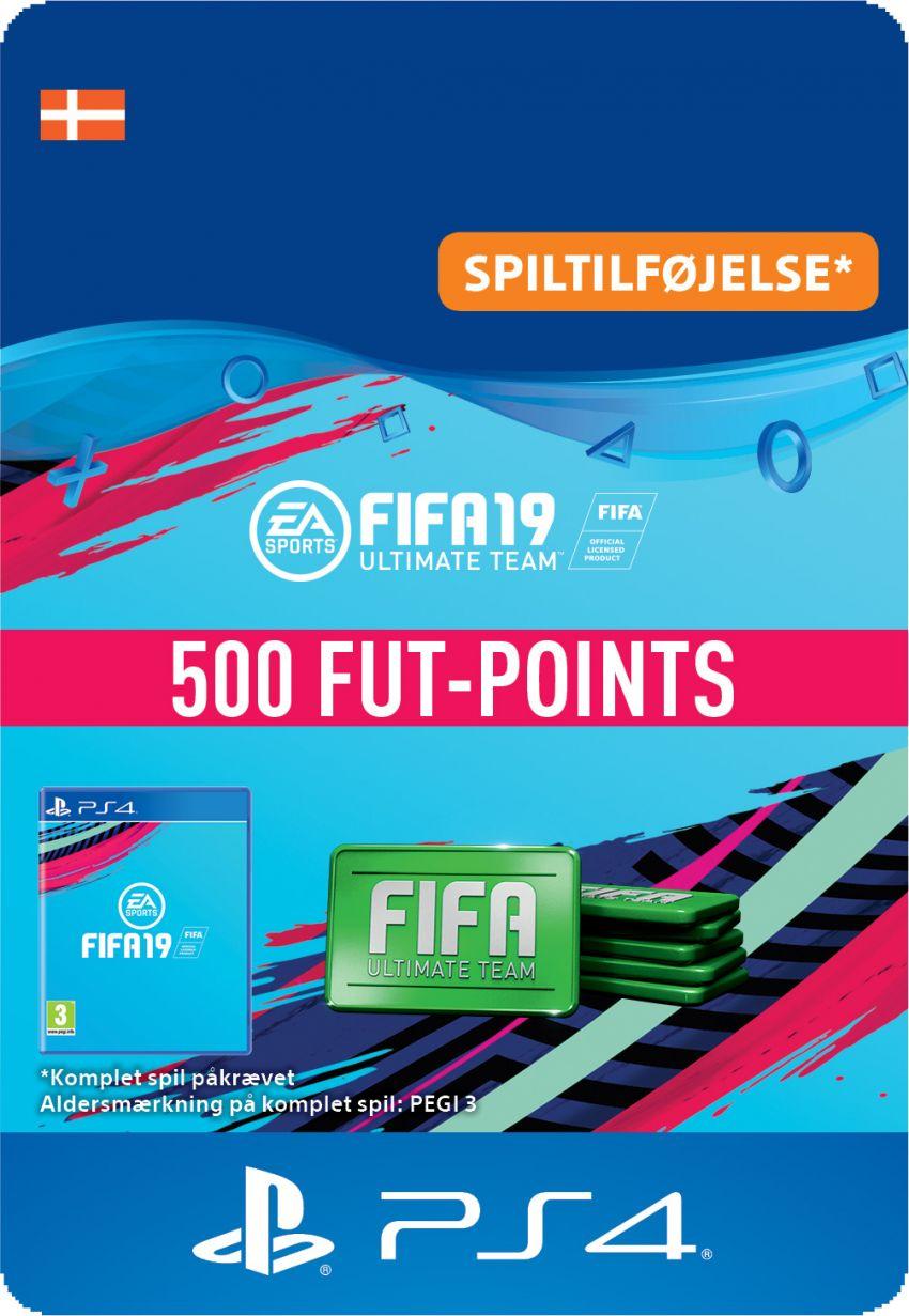FIFA 19 ULTIMATE TEAM™ - 500 FUT-POINTS