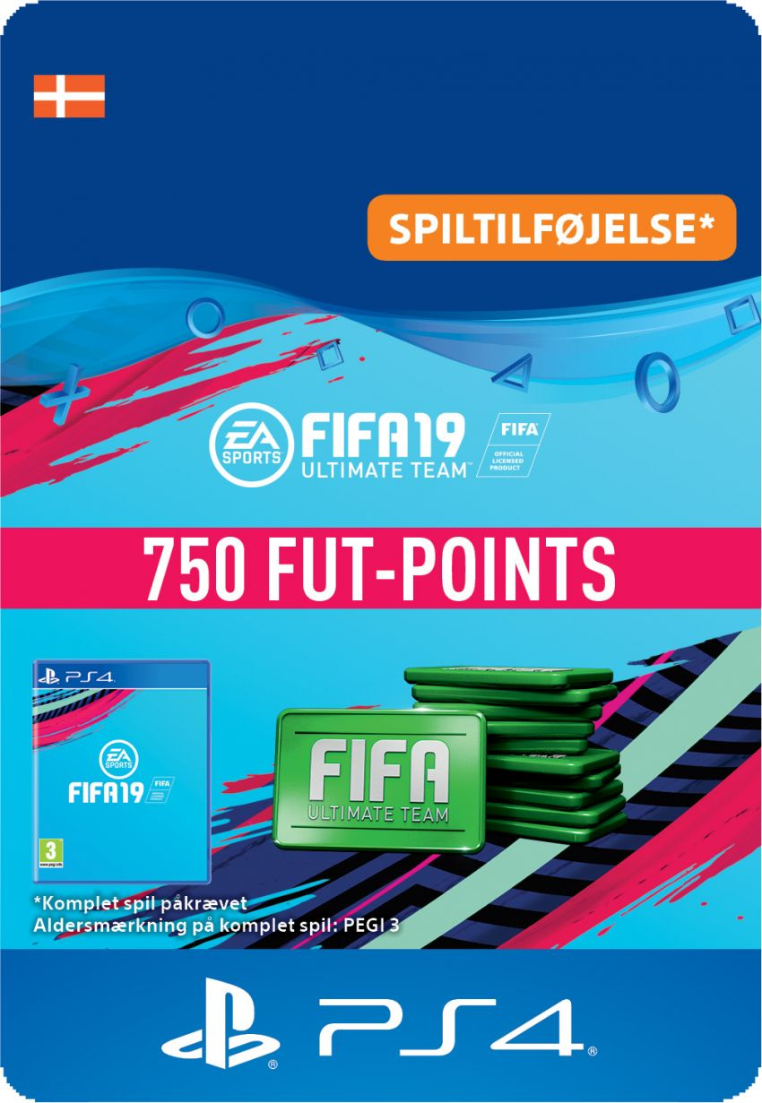 FIFA 19 ULTIMATE TEAM™ - 750 FUT-POINTS