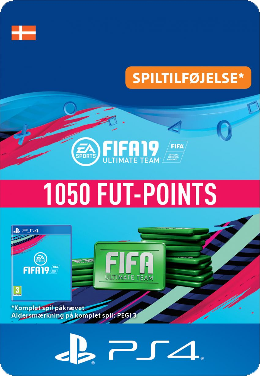 FIFA 19 ULTIMATE TEAM™ - 1050 FUT-POINTS