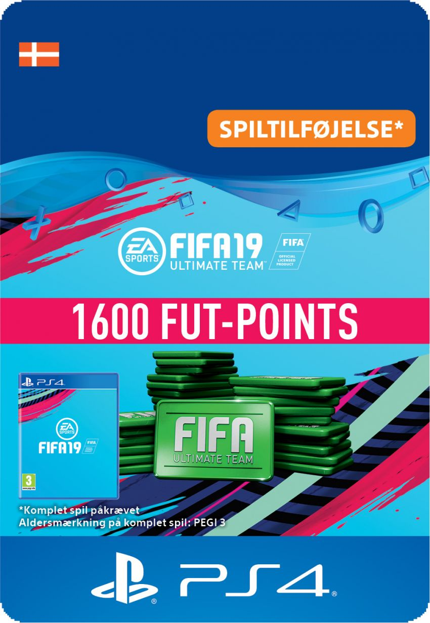 FIFA 19 ULTIMATE TEAM™ - 1600 FUT-POINTS