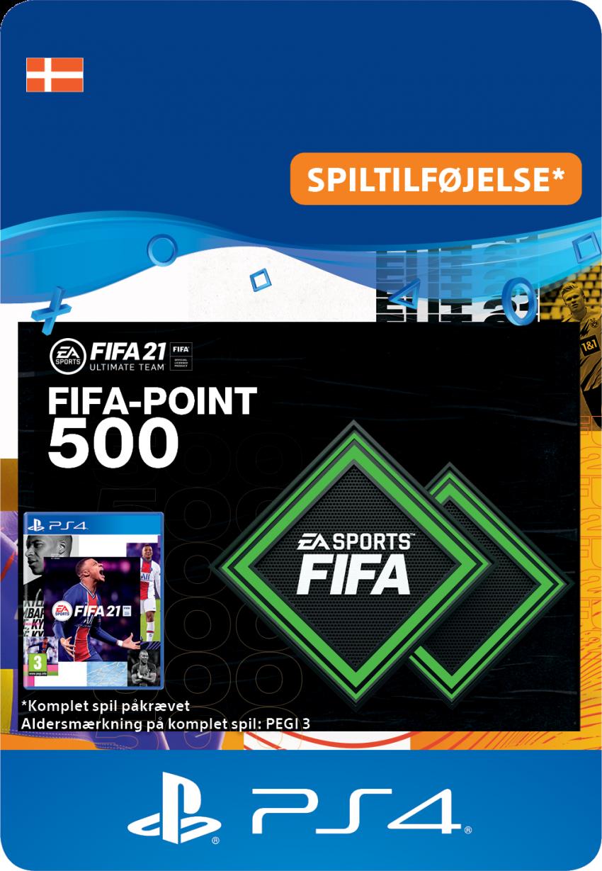 FIFA 21 ULTIMATE TEAM™ – 500 FIFA-point