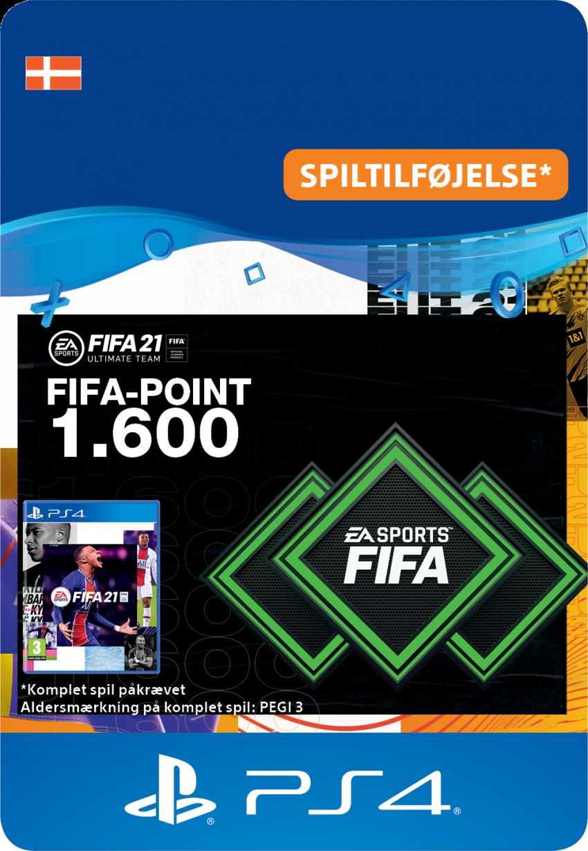 FIFA 21 ULTIMATE TEAM™ – 1.600 FIFA-point